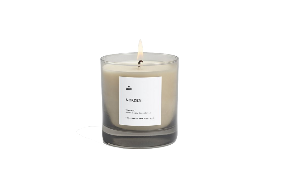 Norden Topanga 9 oz. Glass Candle
