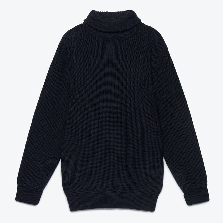 U-Boat Roll Neck - Ink