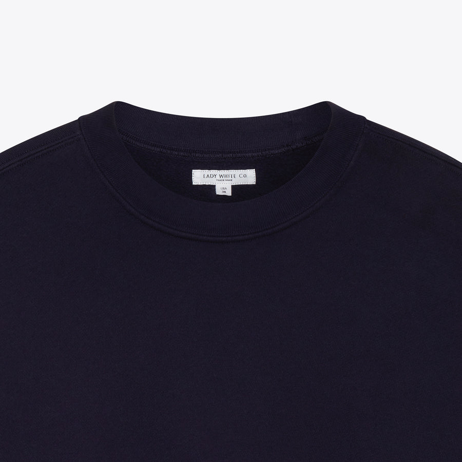 Sport Crewneck Sweater - Navy