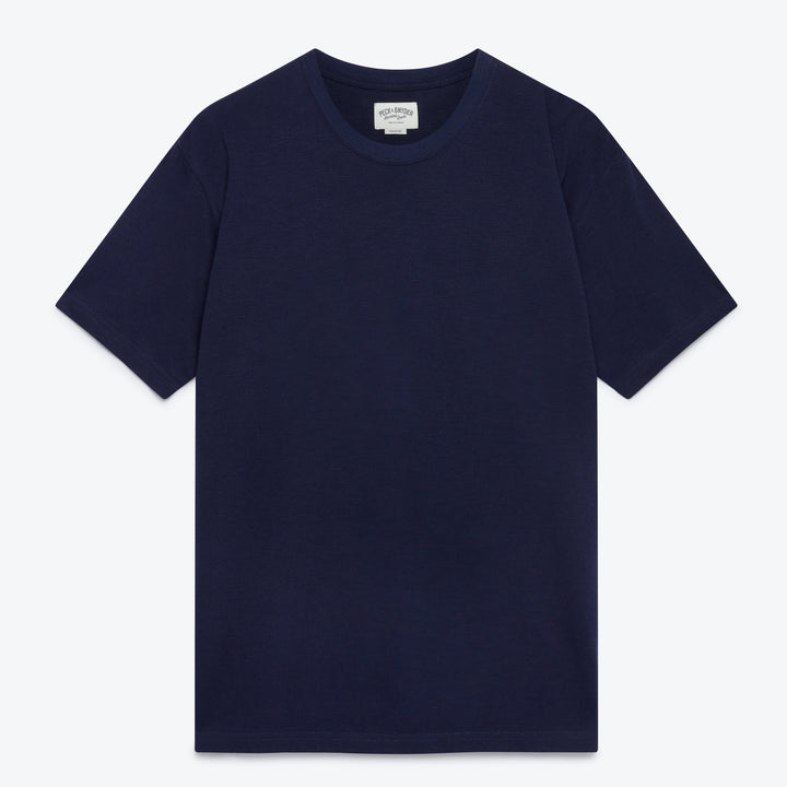 Raglan Slub Tee - Midnight