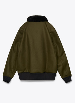 Flyer's Club Jacket - Loden / Black