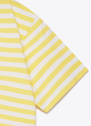 77341 Striped Tee - Rayon / White