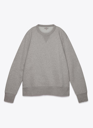 Crew Neck Fleece - Grey
