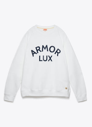 76661 Logo Sweat - White