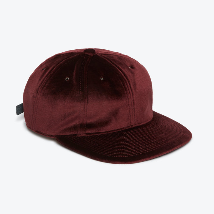Velour Cap - Wine