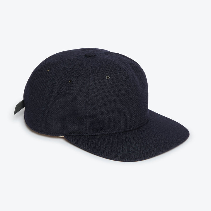 Poten Birdseye Cap - Navy - The Great Divide