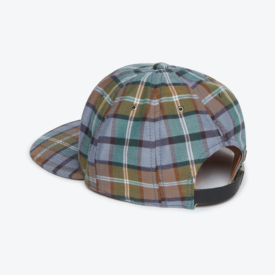 JPN Flannel Cap - Blue