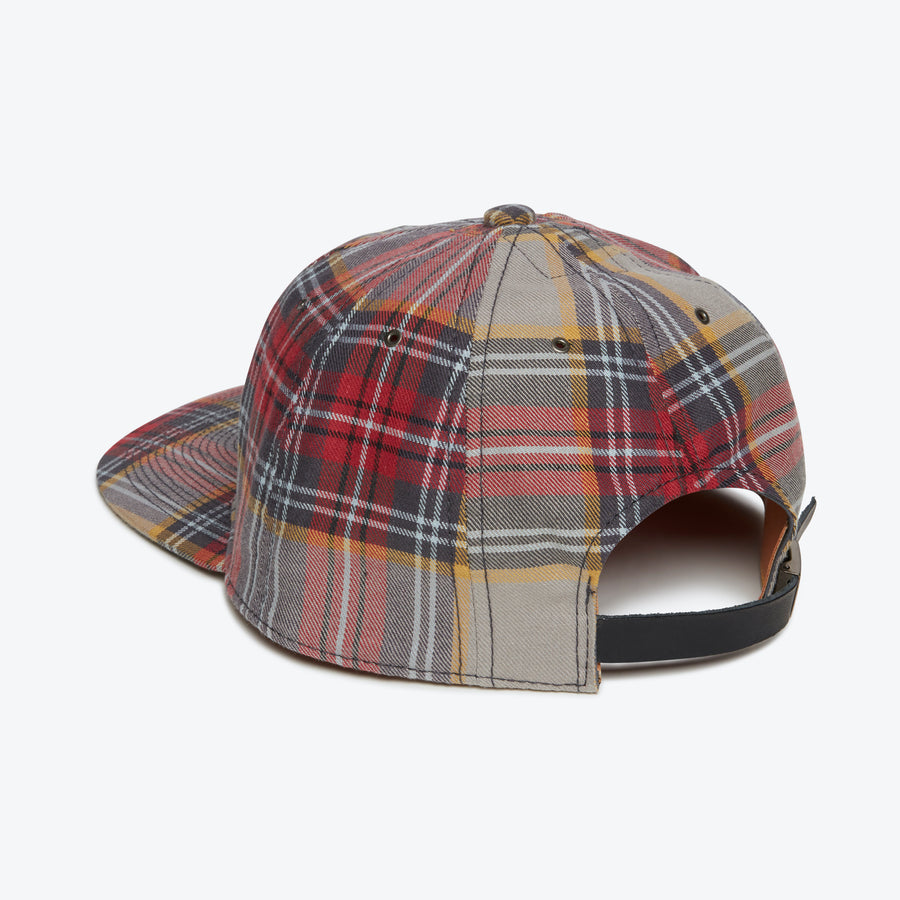 JPN Flannel Cap - Grey