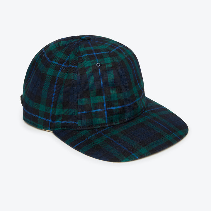 Poten JPN Flannel Cap - Navy - The Great Divide