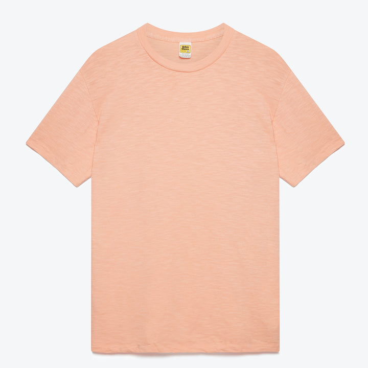 Rolled S/S Regular Tee - Pink