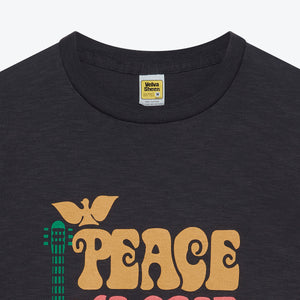 Peace Love Music Tee - Black