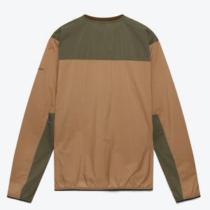 High Aeration Pullover - Beige / Orange