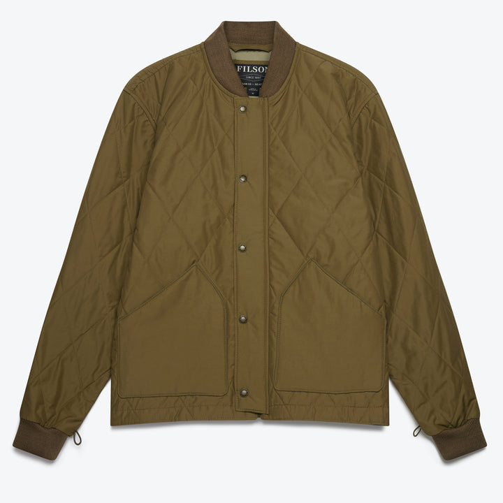 Quilted Pack Jacket - Tan