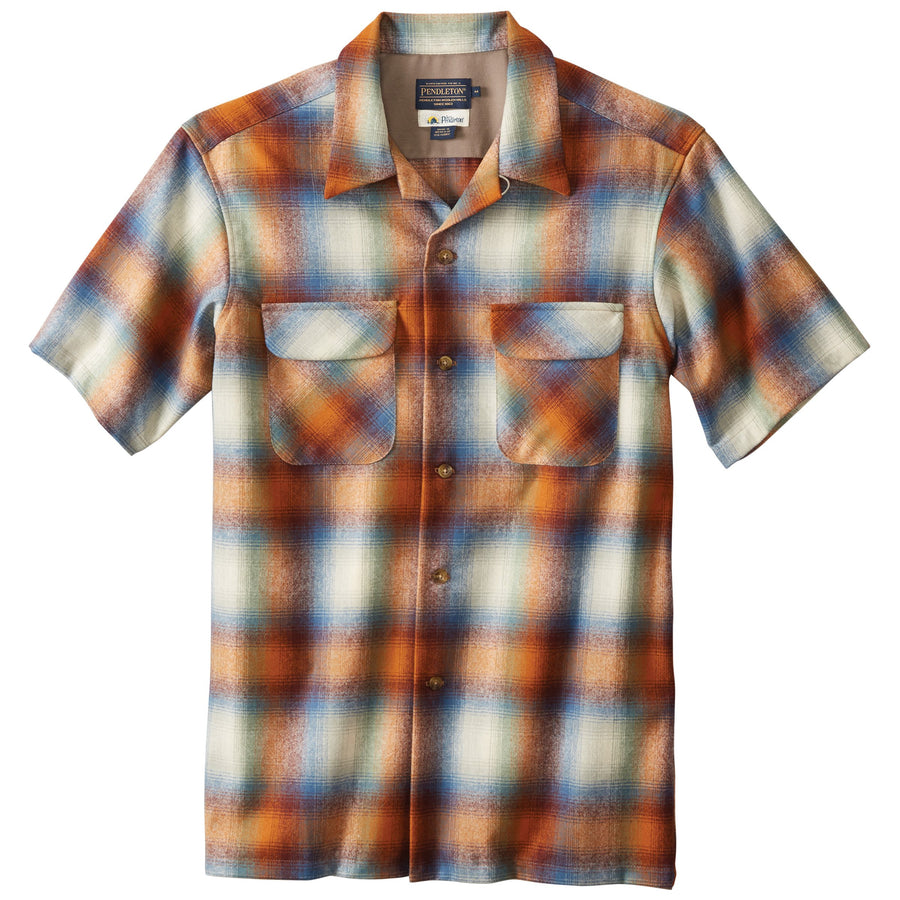Short Sleeve Board Shirt - Deadgrass Ombre
