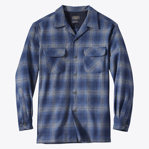 Board Shirt - Blue/Navy/Grey Ombre
