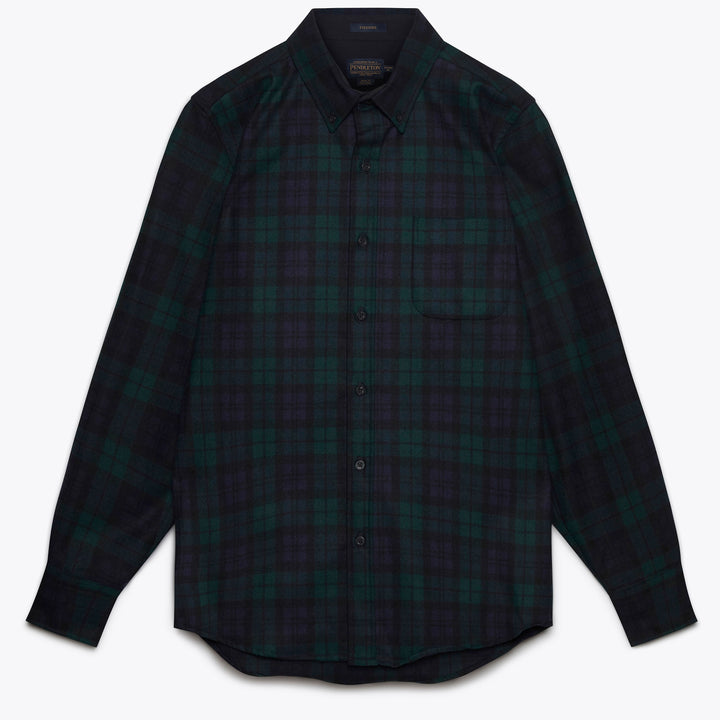 Fireside Shirt - Black Watch Tartan