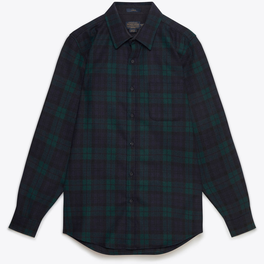 Lodge Shirt - Black Watch Tartan