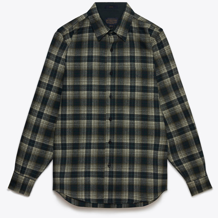Lodge Shirt - Green Ombre