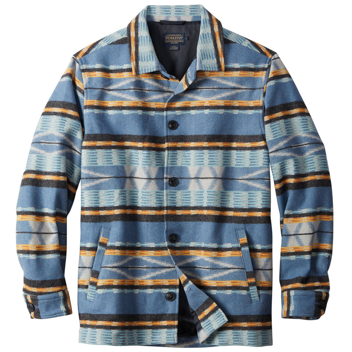 Surf Shirt Jacket - Pacific City Blue