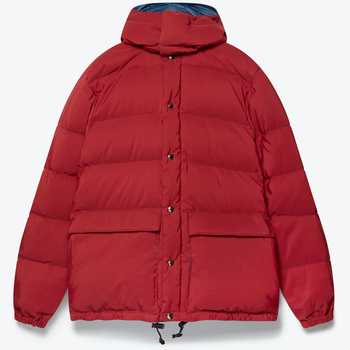 Classico Parka - Red / Navy