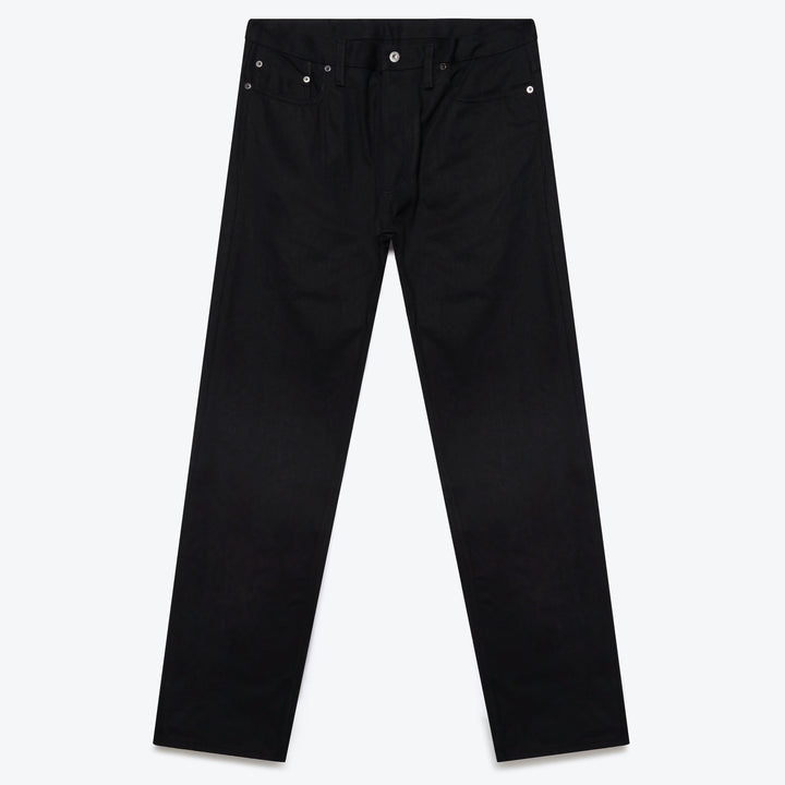 Slim Tapered Jean - Lightweight Double Black Selvedge