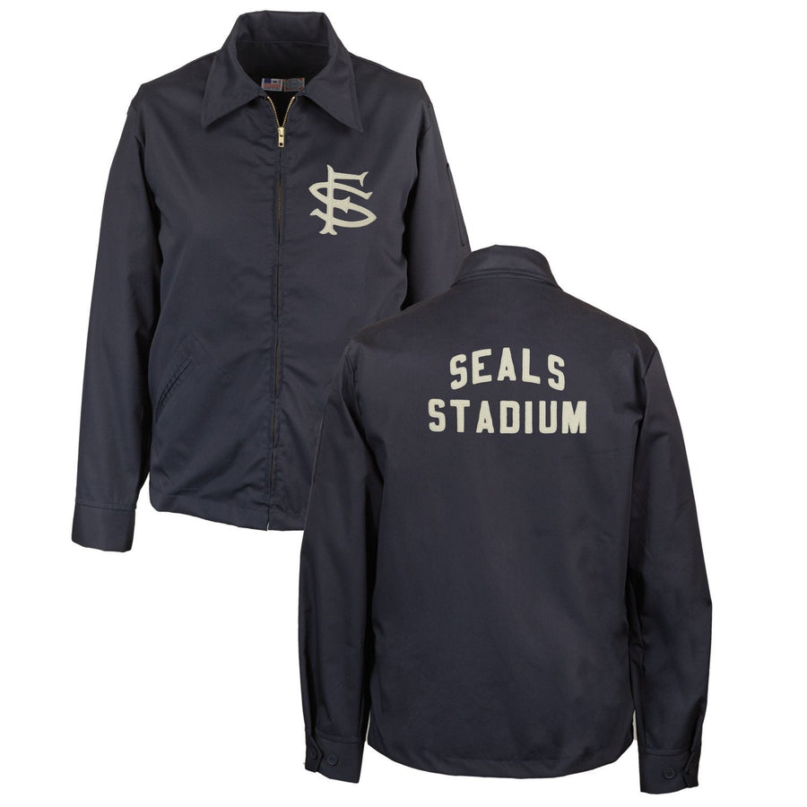 Ebbets Field Flannels - San Francisco Seals Grounds Crew Jacket