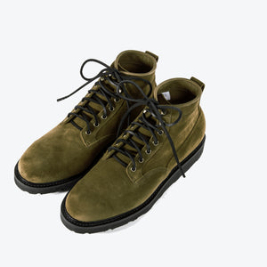 Viberg Scout Boot - Bamboo Calf Suede - The Great Divide