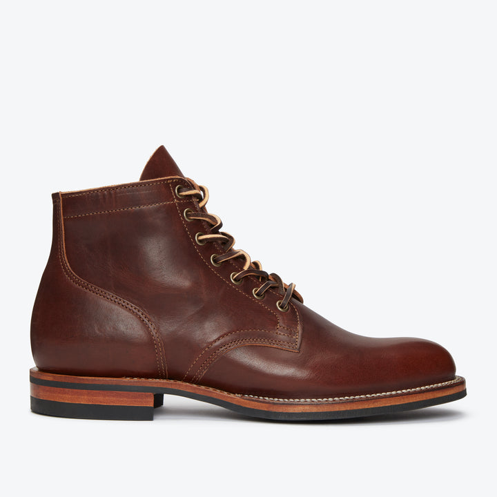 Service Boot - Horween Dark Rubber