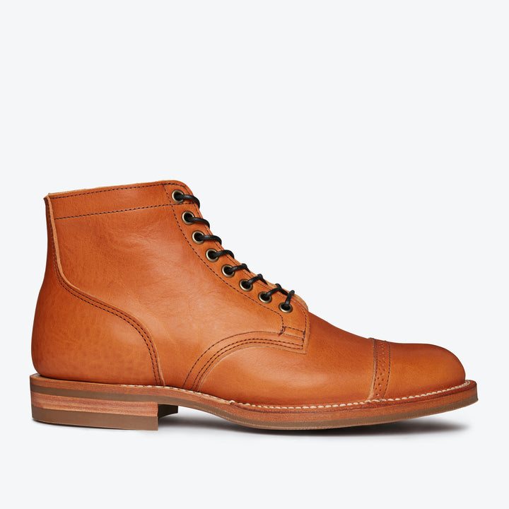 Service Boot - Natural Japanese Cowhide
