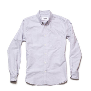 Corridor Classic Oxford Shirt - Grey - The Great Divide