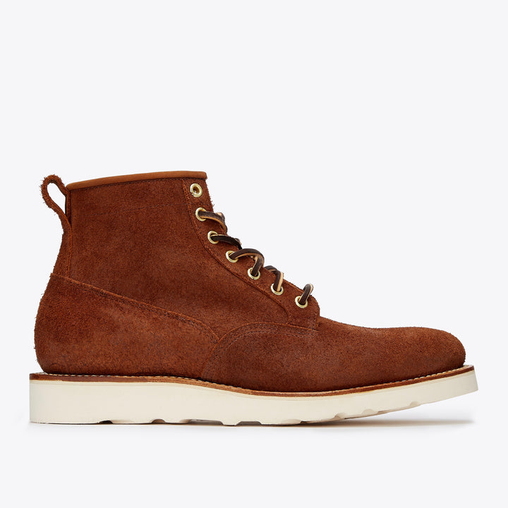 Viberg Scout Boot - Aged Bark Roughout - The Great Divide