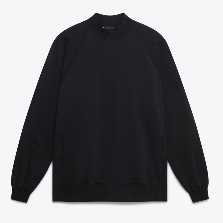 Roll Neck Sweat - Black
