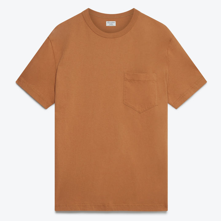 Dad's Pocket Tee - Tobacco