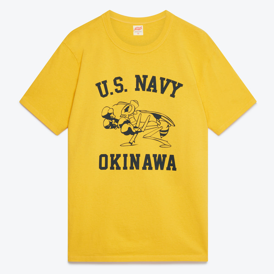 TSPTR USN Okinawa T-Shirt - Yellow - The Great Divide