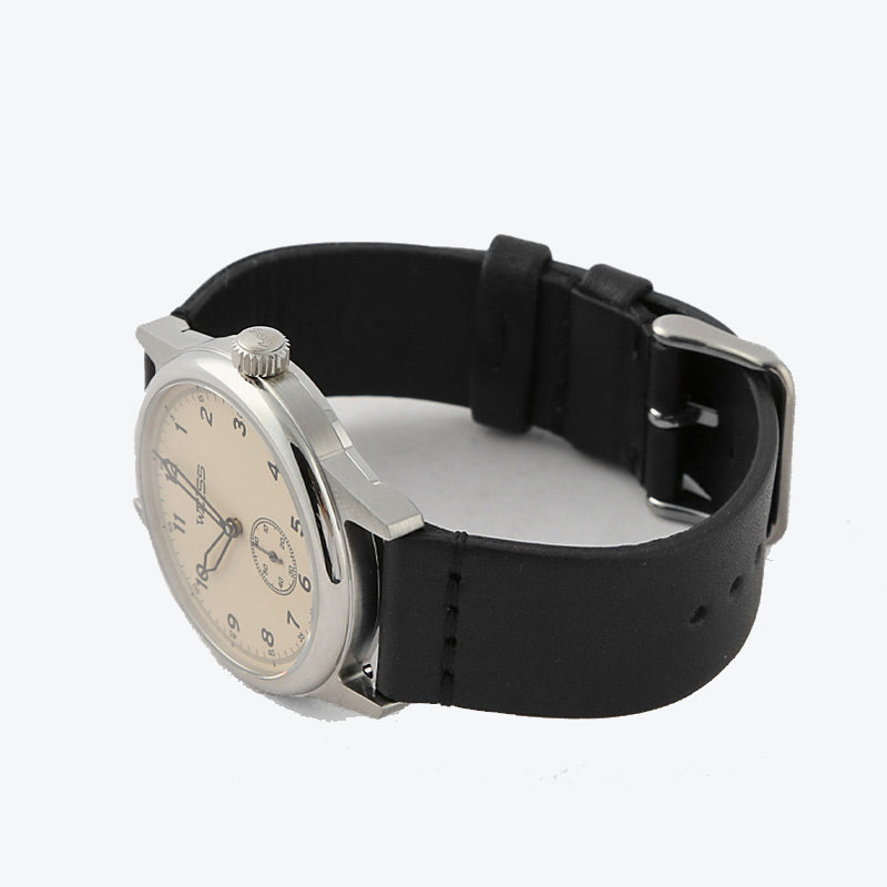 2-Piece Watch Strap - Black