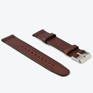 2-Piece Watch Strap - Cognac