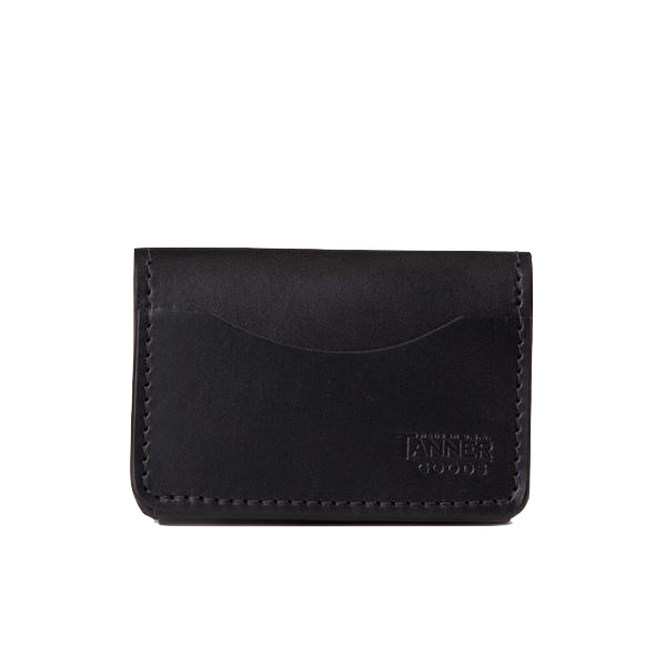 Union Quad Wallet - Black