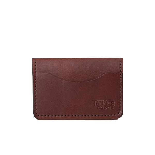 Union Quad Wallet - Cognac