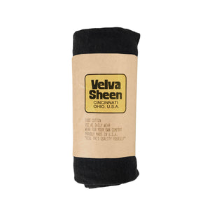 Velva Sheen Rolled S/S Regular T-Shirt - Black - The Great Divide