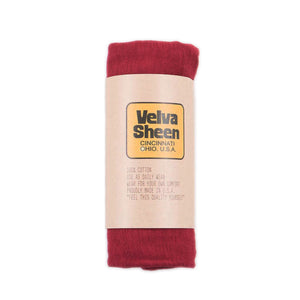 Velva Sheen Rolled S/S Regular T-Shirt - Burgundy - The Great Divide