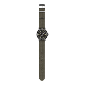 Timex Archive Navi Harbor Watch - Steel / Black Dial - The Great Divide