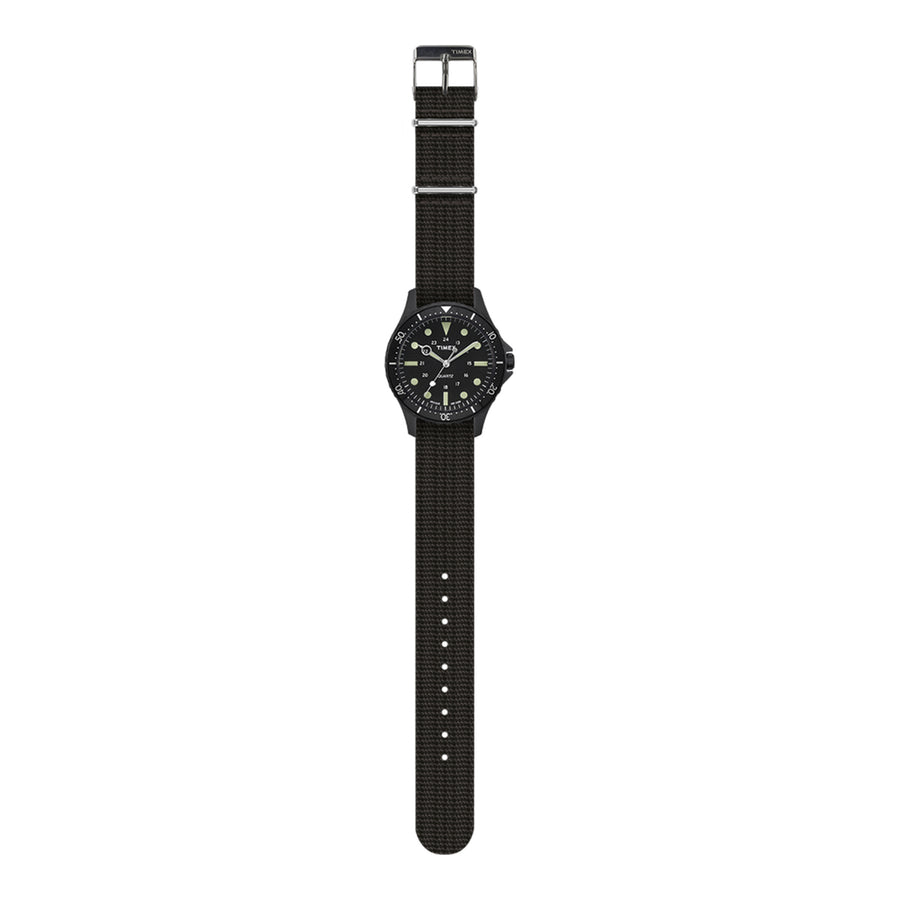 Timex Archive Navi Harbor Watch - Black - The Great Divide