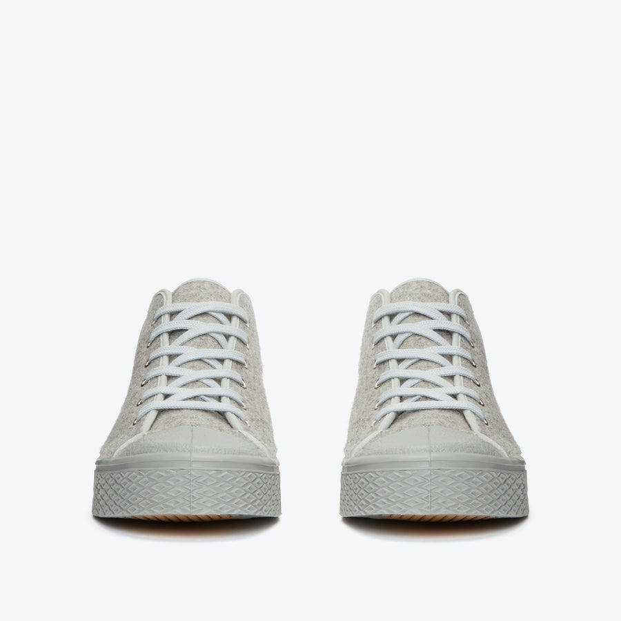Military Felt Chukka - Grey