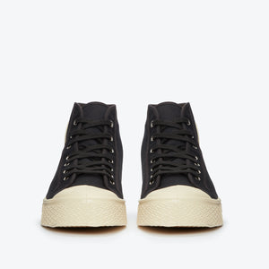 Military High Top - Black / White
