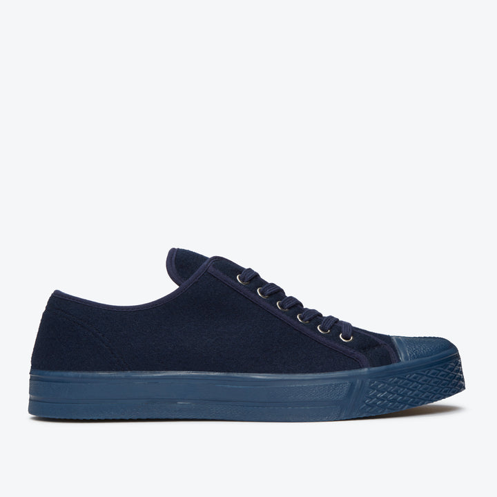 Military Felt Low Top - Navy