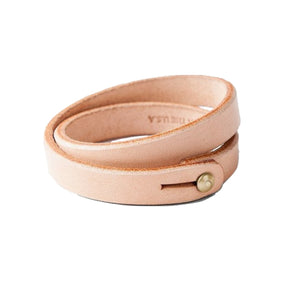Double Wrap Wristband - Natural