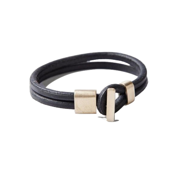 Brass Premium Wristband - Black