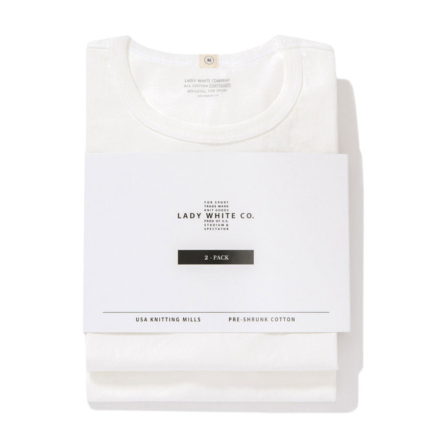 Two Pack T-Shirts - White