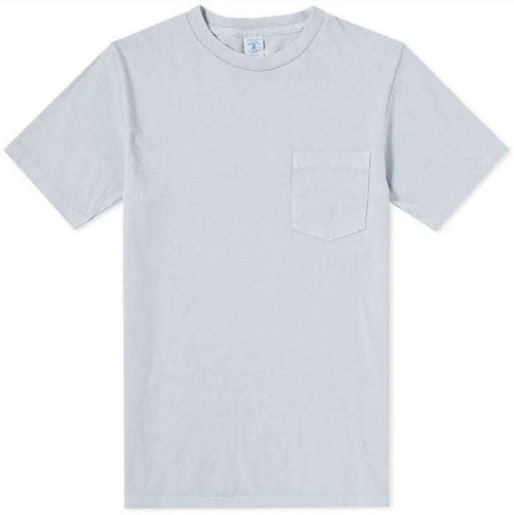 Velva Sheen Pigment Dyed Pocket Tee - Blue - The Great Divide