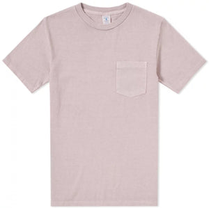 Velva Sheen Pigment Dyed Pocket Tee - Pink